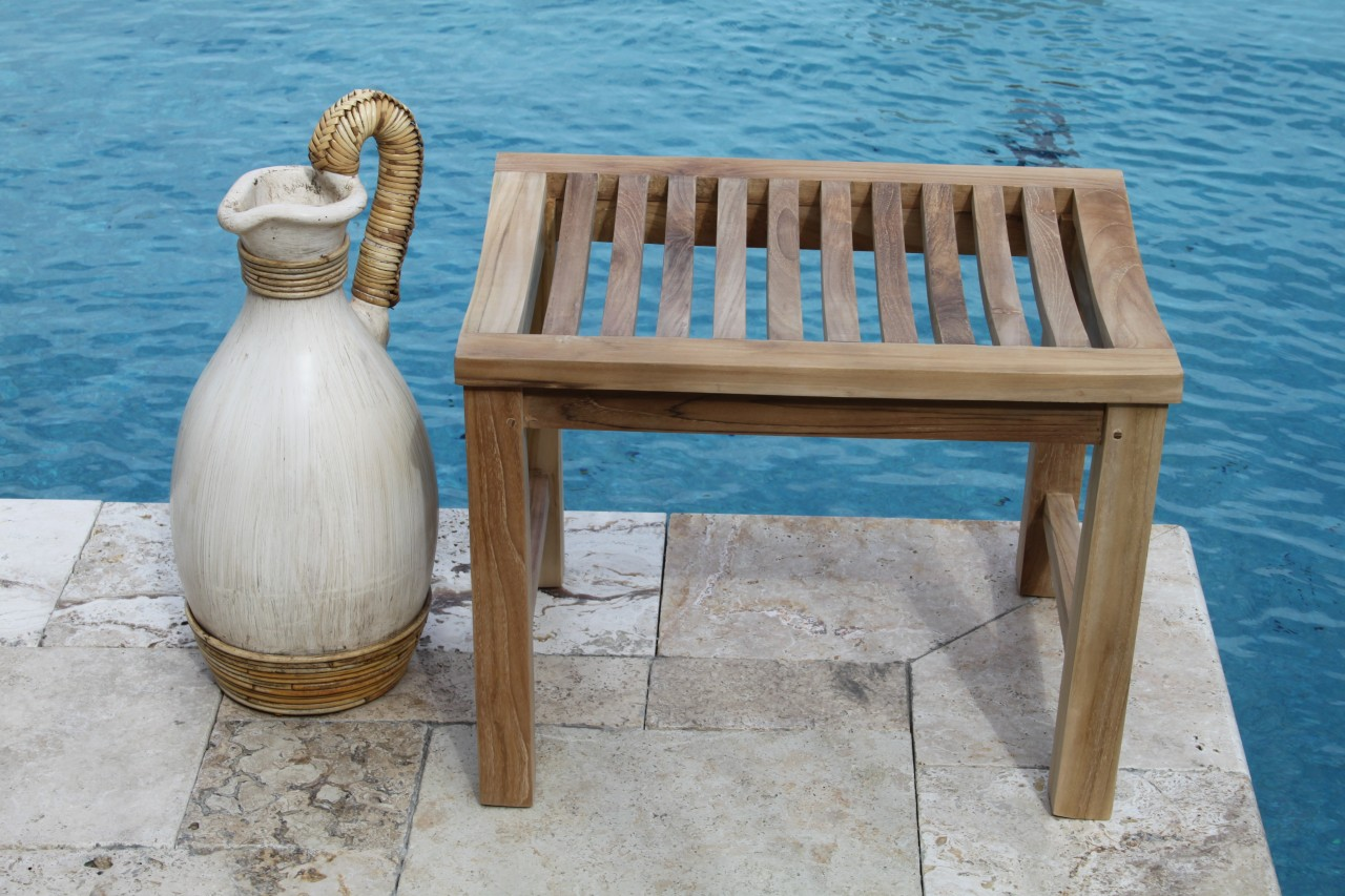 Aqua Teak 2 Foot Teak Shower or Garden Bench at Sears.com