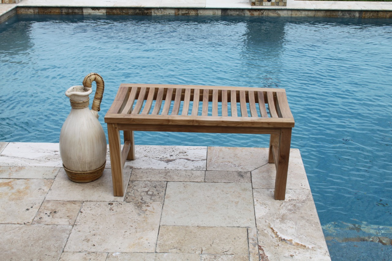 Aqua Teak 3 Foot Teak Shower or Garden Bench at Sears.com